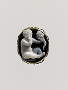 Sardonyx cameo of the infant Harpokrates