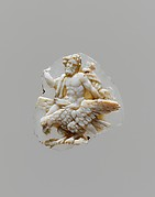 Sardonyx cameo fragment with Jupiter astride an eagle
