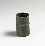 Cup, cylindrical (inkstand?)