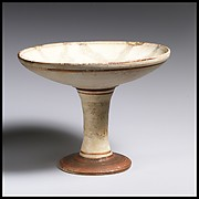 Terracotta stemmed dish