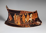 Fragment of a terracotta volute-krater