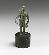 Bronze statuette of Apollo