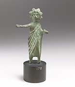 Bronze statuette of a priest or offrant