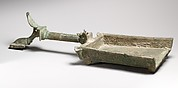 Bronze batillum (incense shovel)