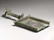 Bronze batillum (incense shovel)