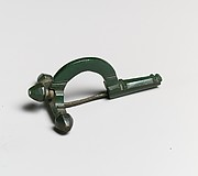 Bronze crossbow fibula (brooch)
