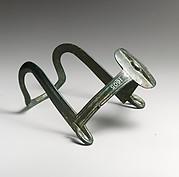Bronze horse muzzle