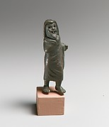 Bronze statuette of an actor