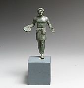 Bronze statuette of a youth with phiale