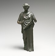 Bronze statuette of a woman, perhaps a Hesperid