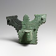 Chariot fragments, socket and plaque