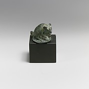 Bronze statuette of a mouse
