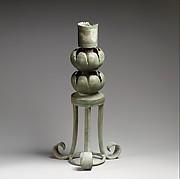 Bronze lamp holder