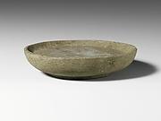 Andesite mortar or plate