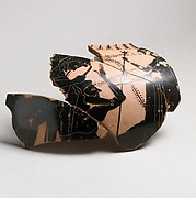 Neck-amphora, fragmentary