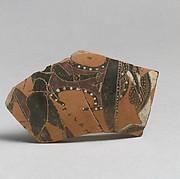 Neck-amphora, Tyrrhenian fragments