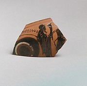 Kylix, eye-cup fragment