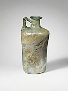 Glass cylindrical jug