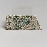 Mosaic glass fragment