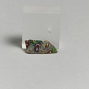 Mosaic glass fragment