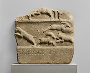 Marble relief fragment