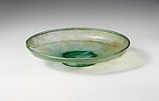 Glass dish