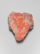 Fresco fragment with siren