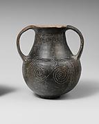 Terracotta spiral amphora (jar)