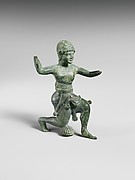 Bronze statuette of Herakles