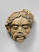 Antefix, head of satyr