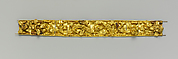 Gold diadem composed of twelve plaques