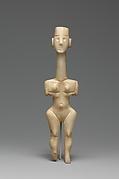 Marble female figure