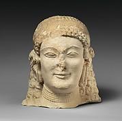 Limestone female head