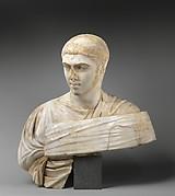 Marble portrait bust of Severus Alexander