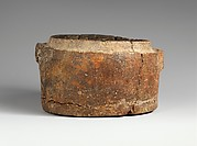 Terracotta box of a pyxis (small box)
