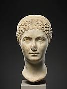 Marble portrait of  Matidia Minor
