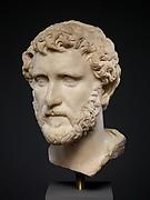 Marble portrait of the emperor Antoninus Pius