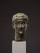 Bronze portrait head of the emperor Gaius (Caligula)
