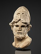 Marble head of a Greek general