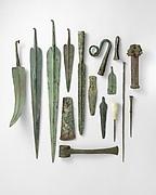 Tin-bronze scepter head