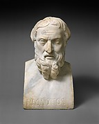 Marble bust of Herodotos