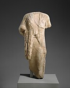 Marble statue of a kore (maiden)