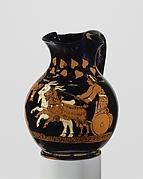 Terracotta oinochoe: chous (jug)