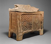 Terracotta larnax (chest-shaped coffin)