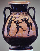Terracotta pelike (wine jar)