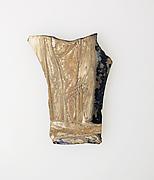 Glass cameo fragment