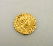 Gold aureus of Mark Antony