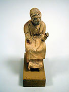 Statuette of an old woman