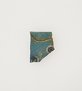 Glass mosaic inlay fragment