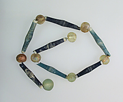 Necklace with 15 beads